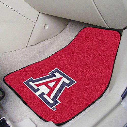 (StarSun Depot 2-pc Carpet Car Mat Set University of Arizona 17