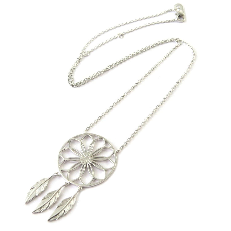 Collar de plata  Navajos silver (rodio)dreamcatcher atrapa sueños. 30% d149fb6fb45