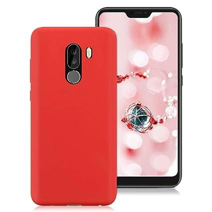 Funda Xiaomi Pocophone F1, Suave TPU Silicona Carcasa para ...