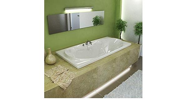 Atlantis Whirlpools 4272WDR Whisper 42 x 72 Rectangular Air /& Whirlpool Jetted Bathtub