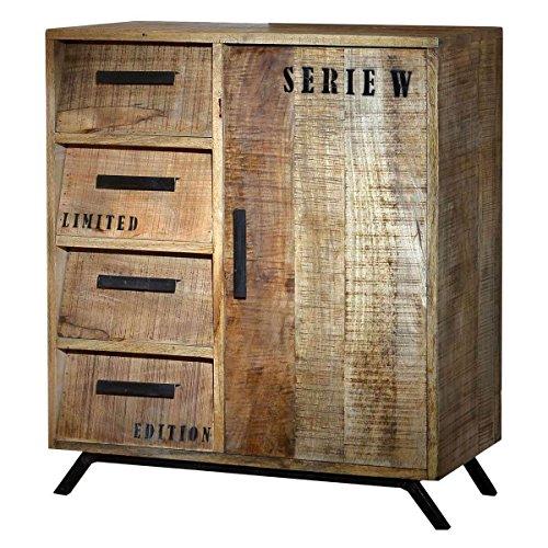Kommode Anrichte Sideboard Romsdal Retro Vintage Design Massivholz