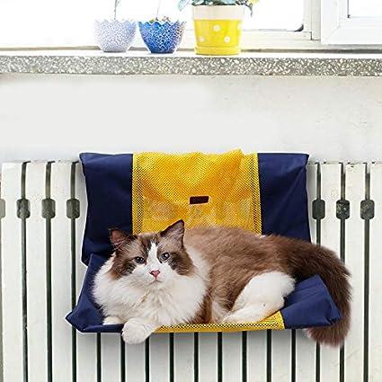 Amazon.com: 1 cama resistente para gatos, con ventana ...