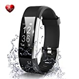 BADIQI Fitness Tracker- Waterproof Activity Tracker Heart Rate Monitors Sleep Tracking Wireless Bluetooth Activity Tracker Smart Bracelet Pedometer Fitness Sports Wristbands