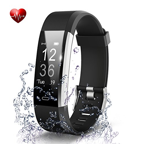 Fitness Tracker- Waterproof Activity Tracker Heart Rate Monitors Sleep Tracking Wireless Bluetooth Activity Tracker Smart Bracelet Pedometer Fitness Sports Wristbands - Tracker Sleep Activity