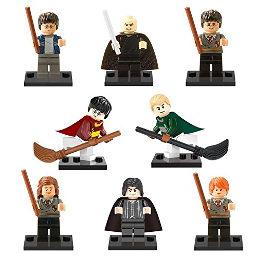 lele 8 unasdembled custom Lego Harry Potter building blocks toy with no manuals, no boxes are included