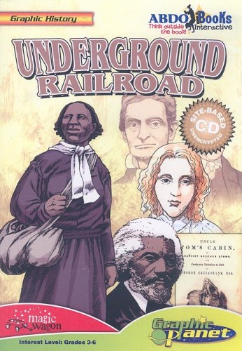 Underground Railroad (Graphic History) by Abdo & Daughters