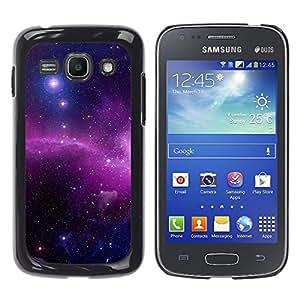 El Radiance Of The Star Focal - Metal de aluminio y de plástico duro Caja del teléfono - Negro - Samsung Galaxy Ace 3