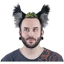 Pawstar Color Theme Wolf Ear Headband Furry Puppy Dog Costume Ears