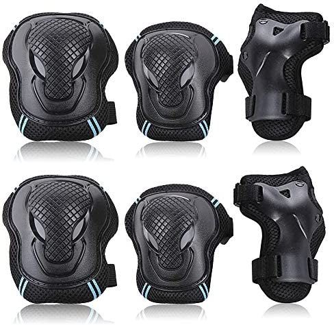 Adults Safety Guards Knee and Elbow Pads With Wrist Guards Protective Gear Set