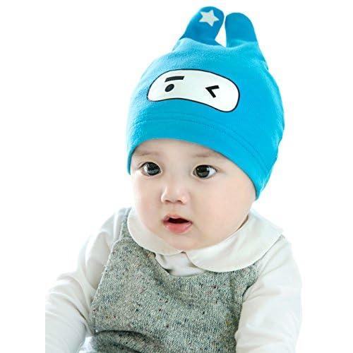 nice GZMM Unisex Newborn Baby Cotton Warm Beanie Hat Skull Cap for sale