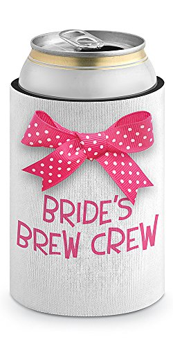 Epic Products Bride's Brew Crew Neoprene Can Epicool, 4-Inch
