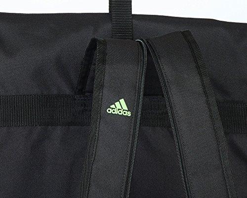 """adidas """" 2 in 1 """" schwarz blau Seesack Trainingstasche Millitary Rucksack Tasche Sportrucksack - Größe S - Tasche & Rucksack Sportrucksack und Sporttasche Trainingstasche Rucksacktasche Kombitasche Sp"""