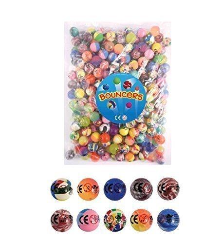 Bouncy Balls - Pack of 20 - Party Bag filler - 27mm bouncy ball]()