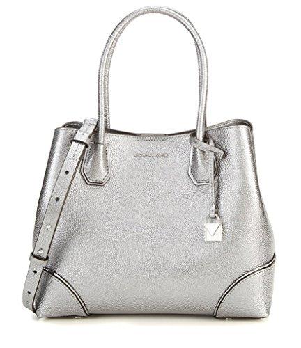 Michael Kors Silver Handbag - 2