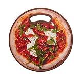 Farberware Non-Slip Round Cutting Board, 12-Inch, Pizza