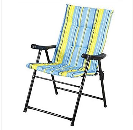 Al aire libre alta calidad tela silla plegable + tubo de ...