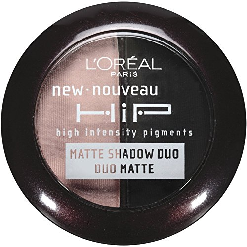L'oreal Paris Hip High Intensity Pigments Matte Eye Shadow Duos, Dashing 917 (2 Pack) - Loreal Hip High Intensity Pigments