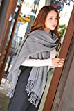 Generic autumn winter _pure_sex_Lu_long,_warm_thick_ women girl _Knitting_ scarves scarf _men's_stripe,_a_stream large _Fancy_ Scarf shawl