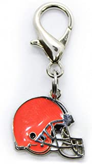 product image for Diva-Dog NFL Football 'Cleveland Browns' Licensed Team Dog Collar Charm