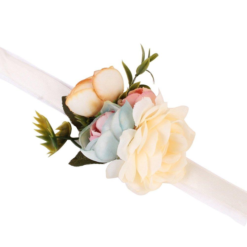 Home & Garden Home, Furniture & DIY Wrist Corsage Ivory Flower ...