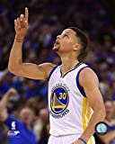 #3: Stephen Curry Golden State Warriors 2015-2016 NBA 73rd Win Action Photo
