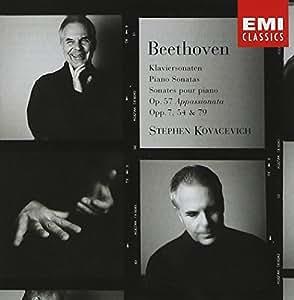 Beethoven : Piano Sonatas op57 Appassionata, opp7, 54, 79