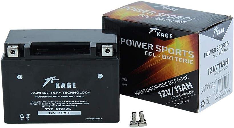 Gel Batterie Kage Yt12a Bs Ytx12a Bs Ytz12s Ytz14s 10ah Für Aprilia Barossa Smc Benelli Explorer Kawasaki Kymco Sym Auto