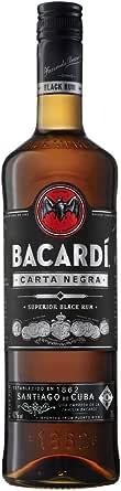 Bacardí Carta Negra Ron Oscuro, 700ml