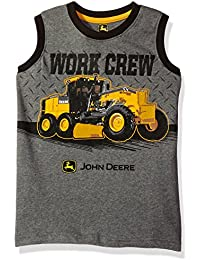 Big Boys' Work Crew Muscle Tee