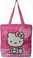 Hello Kitty Tote Bag- Pink with Pink Heart Handbag
