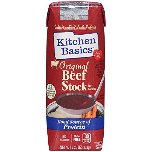 Kitchen Basics Original Beef Stock, 8.25 oz (Case of 12)