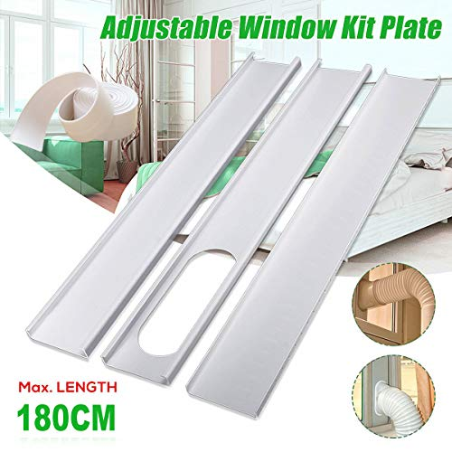 - Aozzy Portable Air Conditioner Plastic Window Kit Vent Kit for Sliding Glass Window (13CM(5.0