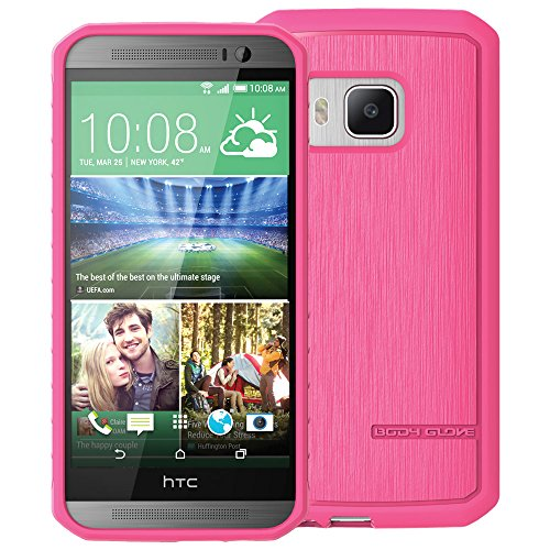 (Body Glove Carrying Case for HTC One M9 - Retail Packaging - Ink)