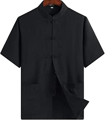 Amazon.com: ZooBoo Chino Ropa Tang Traje - Kung Fu Camiseta ...