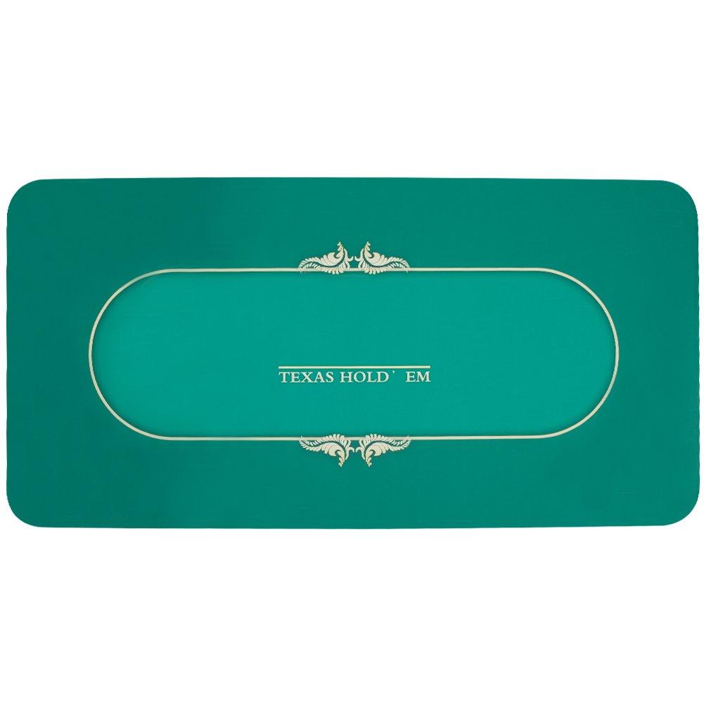 GAMELANDプロフェッショナルラバーフォームPoker TableトップLayout長方形ポーカーマット   B07796Z79N, Tuuli:0e1730f9 --- 2017.goldenesbrett.net