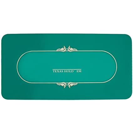 """70 /""""x 35/"""" Blue Portable Non-Slip Poker Table Top Cover Card Game Layout Mat"""