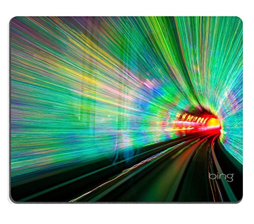MSD Mousepad Inside the Bund Sightseeing Tunnel under the Huangpu River in Shanghai China Natural Rubber Material Image 14644656418