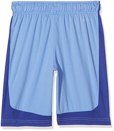 Nike B NK Dry Short Shorts, Kinder XS Blau (polar/Deep Night/schwarz)