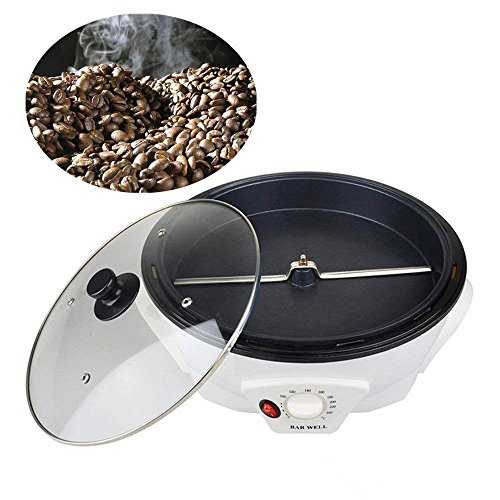 ele ELEOPTION Electronic Coffee Bean Roaster Oven Machine 100℃-200℃ Temperature Adjustable for Home Use or Commercial ()