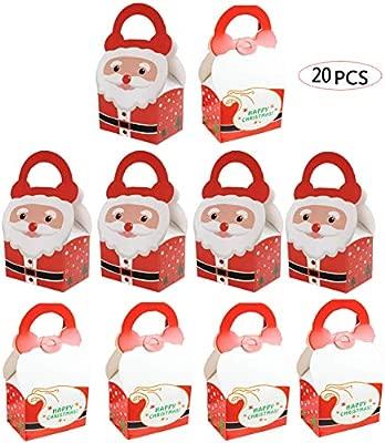 Biluer 20PCS Bolsas Regalo Cumpleaños Navidad Bolsa De ...