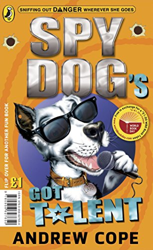 book cover of Spy Dog\'s Got Talent / Great Pet-Shop Panic