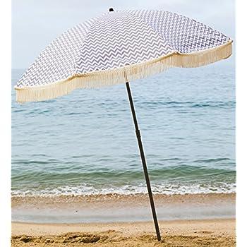 14e9e65495 Amazon.com : BeachBrella Las Brisas Beach Umbrella, with Fringe and ...