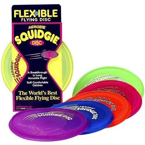 Aerobie Squidgie Disc Colors