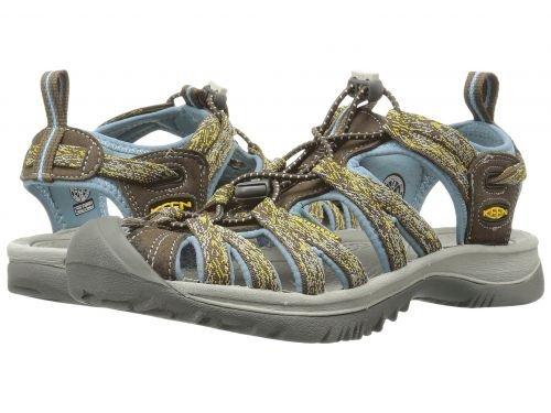 Keen(キーン) レディース 女性用 シューズ 靴 サンダル Whisper - Cascade/Stone Blue [並行輸入品]