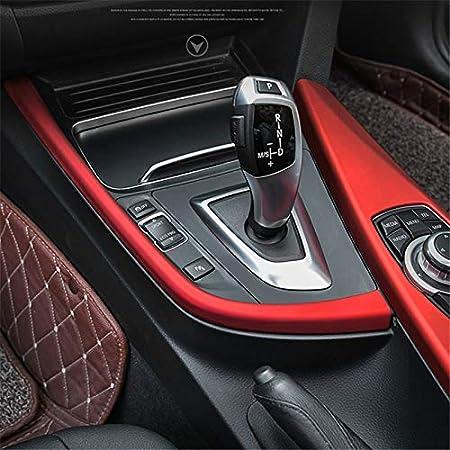 Hdcf Für 3 4er 3gt F30 F31 F32 F34 F36 316li 320li Autozubehör Schaltpaneel Dekorleiste Blende Rot Auto