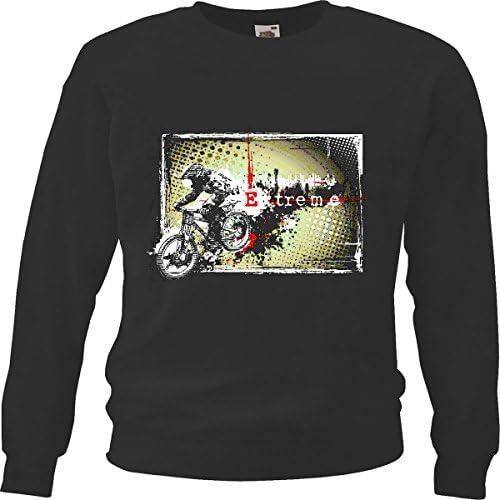Sudaderas Suéter Ciclismo DE MONTAÑA del Controlador Camiseta Deportes Extremos la Bici de montaña REPARACIÓN DE Ciclo Sport Bike Tour EN BTT Camisa in Negro: Amazon.es: Ropa y accesorios