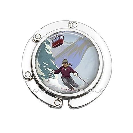 Amazon.com: Gancho para monedero de esquí, para viajes ...