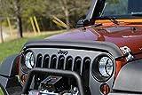 Rugged Ridge 11348.02 Hood Bug Deflector, Matte