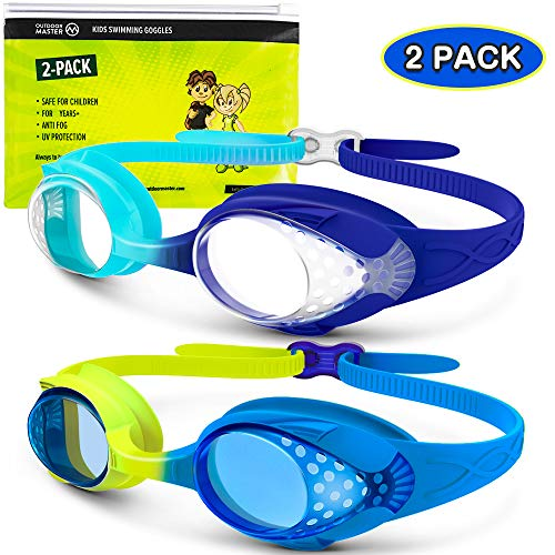 OutdoorMaster Kids Swim Goggles