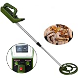 ReaYouth Waterproof Underground Metal Detector with High Sensitivity, Gold Digger Finder Beach Treasure Hunter Detection Tool for Junior Kids Children Toys Gift (A)